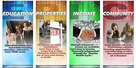Online Real Estate Investing , Financial Literacy & Tax Strategy Classes tickets