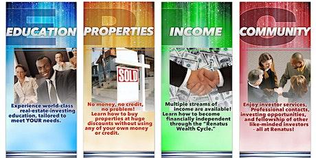 Online Real Estate Investing , Financial Literacy & Tax Strategy Classes biglietti
