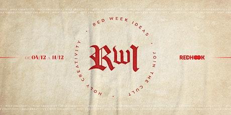 Red Week Ideas 2020 ingressos