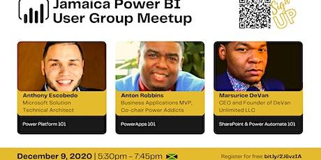 Jamaica Power BI  User Group Meetup tickets
