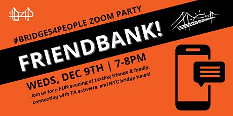 Friendbank! for #bridges4people tickets