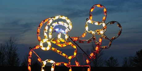 Night Walk and Light Trail and Meet Santa on his Sleigh tickets