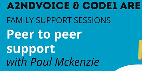 Haringey Online Peer to Peer Support with Paul Mckenzie tickets