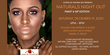 Naturals Night Out - Paint, Sip, &  Chat Hair tickets