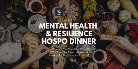 Healthy Hospo Presents: Mental Health & Resilience Evening tickets