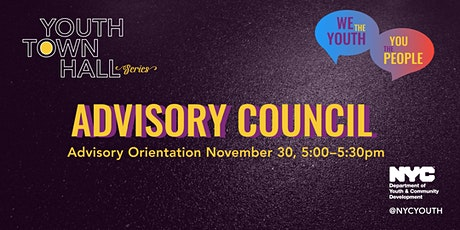 We the YOUTH Advisory Council tickets