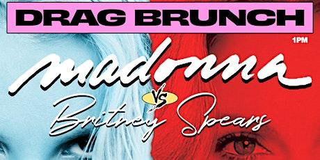 Britney vs Madonna Drag Brunch tickets