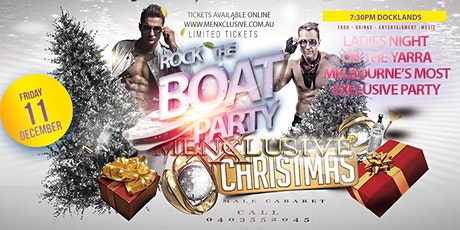 Menxclusive Christmas Rock The Boat Party tickets