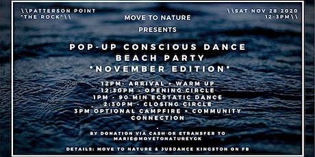 Pop-Up Conscious Dance Beach Party tickets