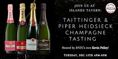 Taittinger & Piper Heidsieck Champagne Tasting tickets