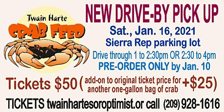 Drive-By Twain Harte Crab Feed tickets