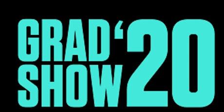 SCA Grad Show 2020 tickets