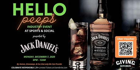Jack Daniels Industry Event tickets