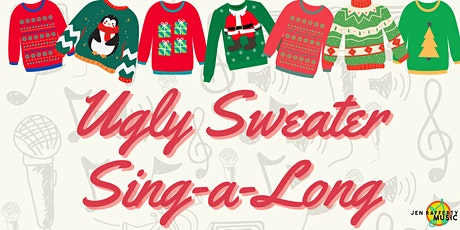 Ugly Sweater Holiday Sing-a-Long on Zoom tickets