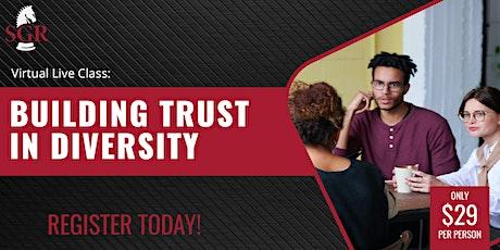 Building Trust in Diversity 2021 (I) tickets