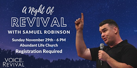 A Night of Revival tickets