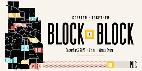GREATER>TOGETHER 2020 BLOCK x BLOCK tickets