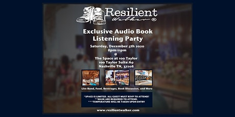 Resilient Walker Exclusive Audio Book Listening Party tickets