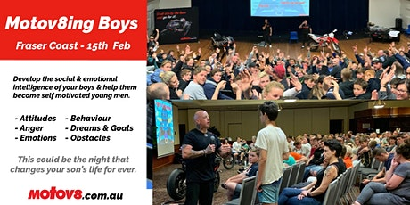 Motov8ing  Boys - Fraser Coast tickets