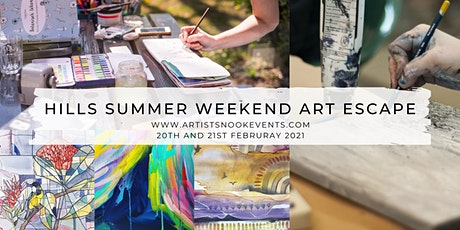Hills  Summer Art Escape | Two Day Retreat tickets