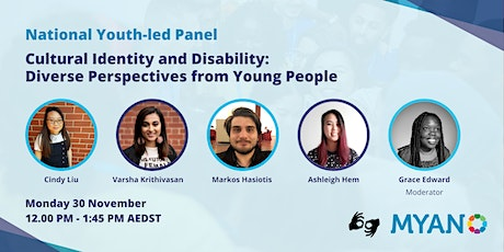 Cultural Identity and Disability: Diverse Perspectives from Young People tickets