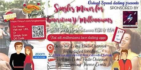 ZOOM Sunday Virtual Dating: Millenniums Singles (Born btwn 1980-1994) tickets