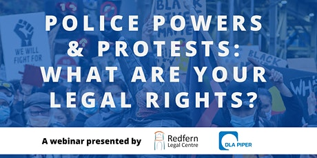 Police powers and protests: what are your legal rights? tickets