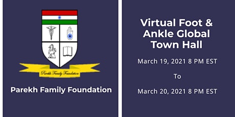 Virtual Foot & Ankle Global Town Hall tickets