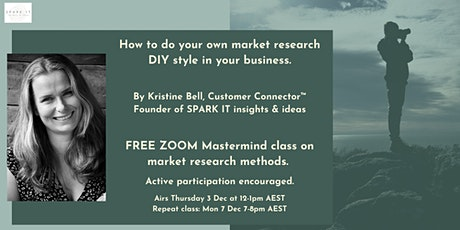 How to do your own market research DIY style in your business tickets
