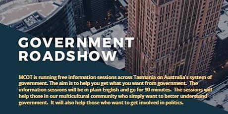 Government Roadshow tickets