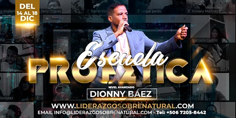 Escuela Sobrenatural Dionny Báez boletos