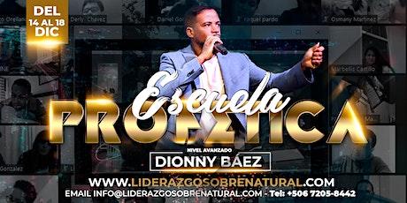 Escuela Sobrenatural Dionny Báez - Baruj boletos