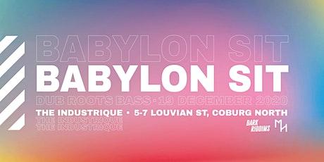 Babylon Sit tickets