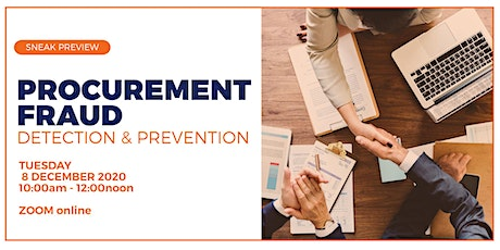 PROCUREMENT FRAUD - Detection and Prevention tickets