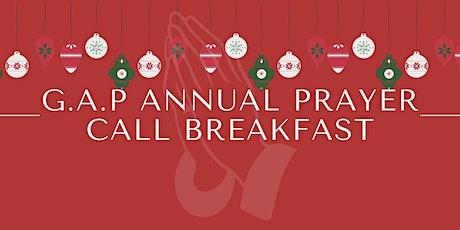 G.A.P Annual Prayer Call Breakfast tickets