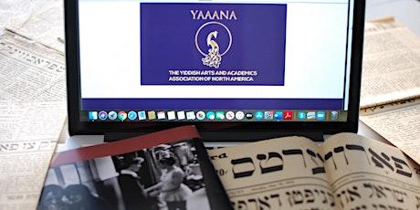 Yiddish Language Classes-Intermediate 1 tickets