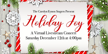 Holiday Joy Virtual Concert tickets