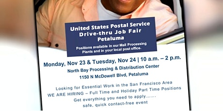 USPS Drive Thru Job Fair tickets
