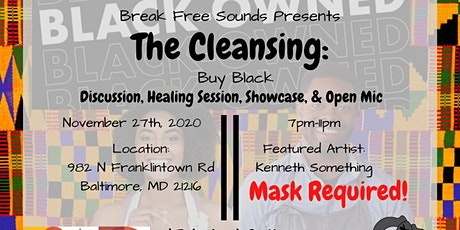 The Cleansing: Buy Black tickets