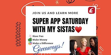 Super App Saturday tickets