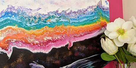 Acrylic Paint Pouring - DOUBLE SESSION - 12 December Afternoon tickets