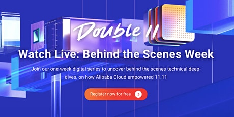Double 11 Behind the Scenes Week Tickets