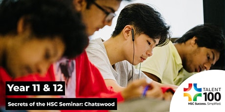 Year 11/12 'Secrets of the HSC' Seminar (January 16th: Chatswood) tickets