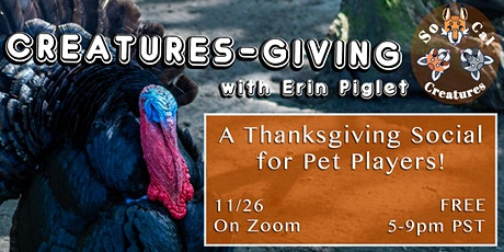 SoCal Creatures' Creatures-Giving! tickets