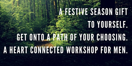 How to manage feelings (yours and others) over the festive season. For men. tickets