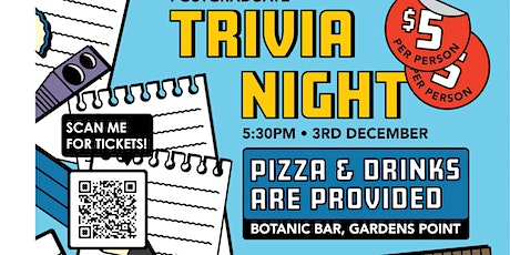 SEF HDR Student Society Pub Trivia Night tickets