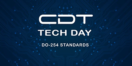 CDT TECH DAY 2020  DO-254 STANDARDS STREAM tickets