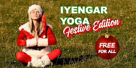 Iyengar Yoga - FREE Festive Edition tickets