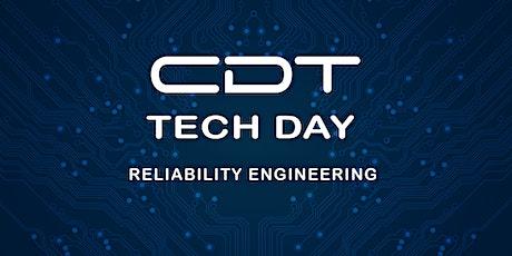 CDT TECH DAY 2020  RELIABILITY ENGINEERING STREAM tickets