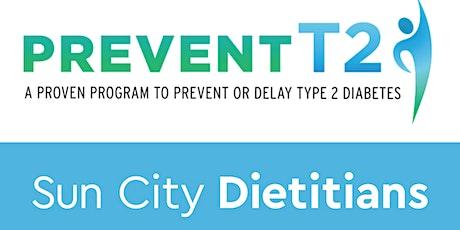 Programa de Prevencion de Diabetes de Sun City Dietitians (Clase Zero) boletos